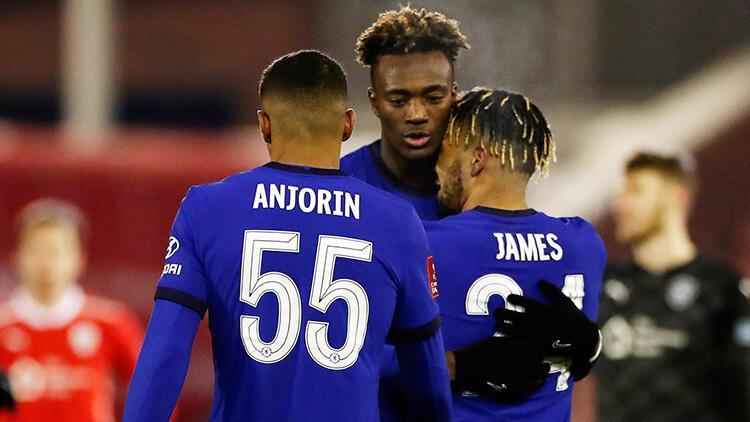 Chelsea, İngiltere FA Kupası'nda çeyrek finale yükselen son takım oldu