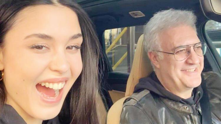 Tamer Karadağlı ve sevgilisi Iraz Yıldız'dan aşk karesi!