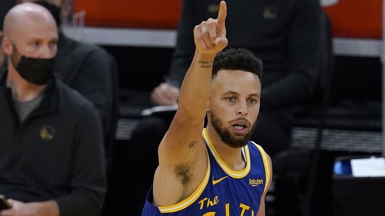 NBA'de Gecenin Sonuçları: Curry'den 10 üçlük! Warriors, Magic'i 111-105 yendi...