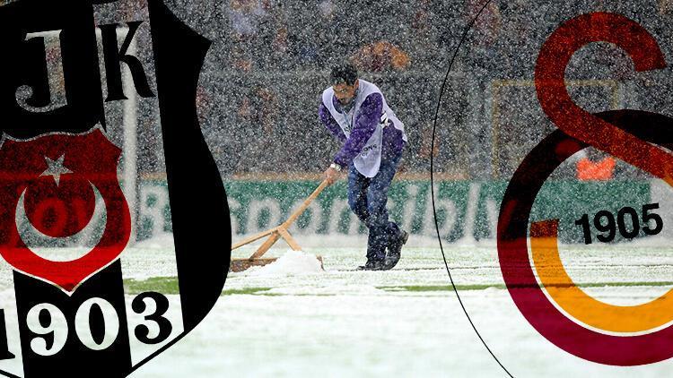 Galatasaray - Kasımpaşa ve Gençlerbirliği - Beşiktaş maçlarının saatleri değişti! Kar yağışı Süper Lig maçlarını nasıl etkileyecek?