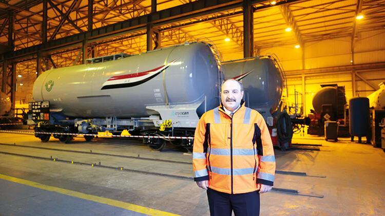Irak için üretilen vagonlar yola çıktı