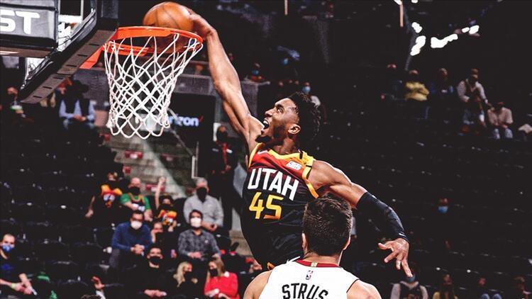 NBAde günün sonuçları: Utah Jazzin galibiyet serisi 7 maça çıktı