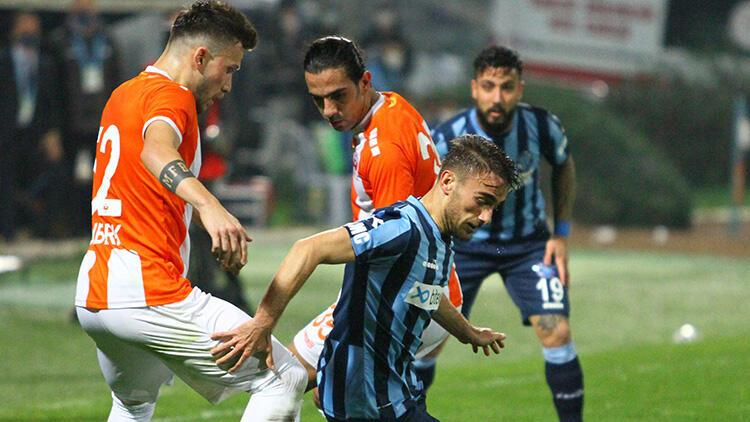 Adanaspor 2-2 Adana Demirspor (Maçın özeti)