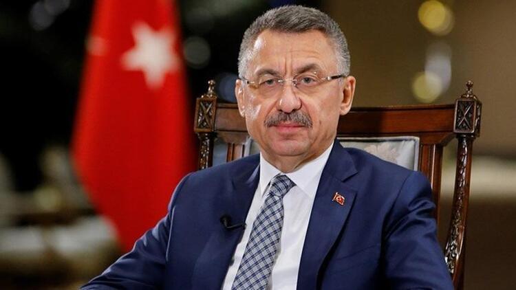 """Cumhurbaşkanı Yardımcısı Fuat Oktay'dan """"kahrolsun PKK"""" paylaşımı"""