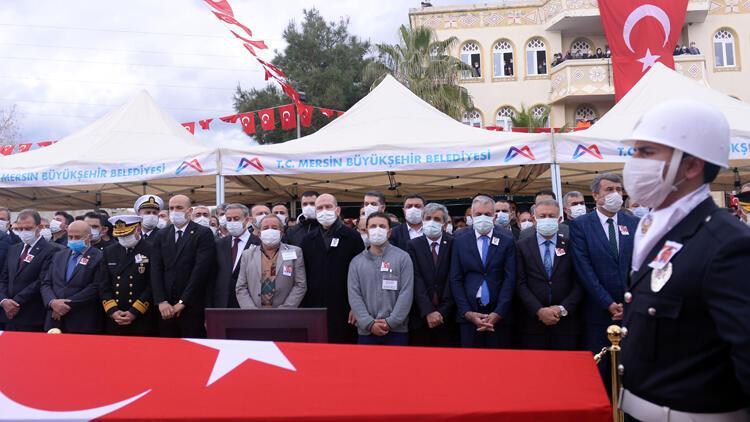 Şehit polis Sedat Yabalak, ebedi aleme uğurlandı