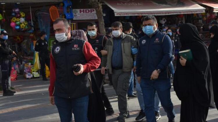 Batman'da HDP il eş başkanları gözaltına alındı