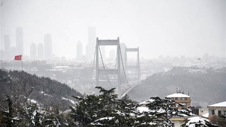 AKOM: İstanbul'da kar kalınlığı 45 santimetreye kadar çıktı