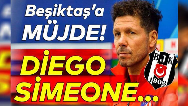 Diego Simeone, Francisco Montero'nun Beşiktaş'ta devam etmesini istiyor