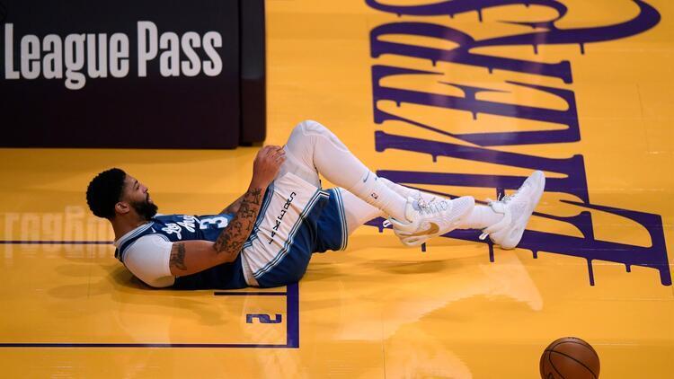 Lakers'ta Anthony Davis şoku! Bir süre sahalardan uzak kalacak...