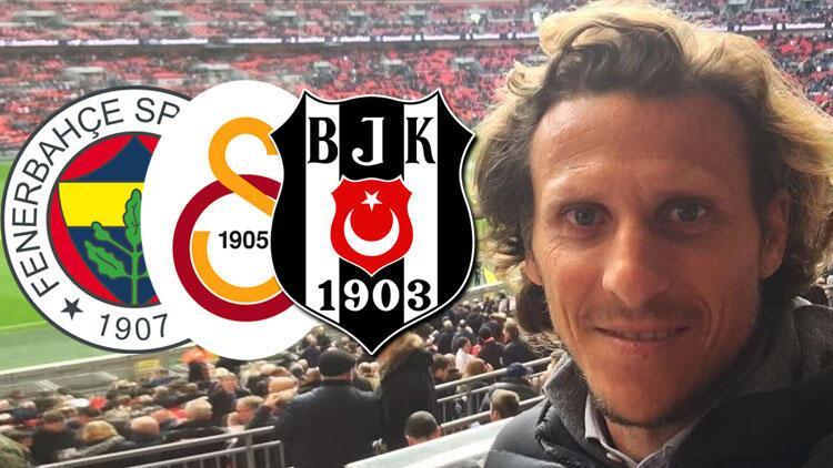 Efsane futbolcu Diego Forlan'dan Beşiktaş, Fenerbahçe ve Galatasaray itirafı!