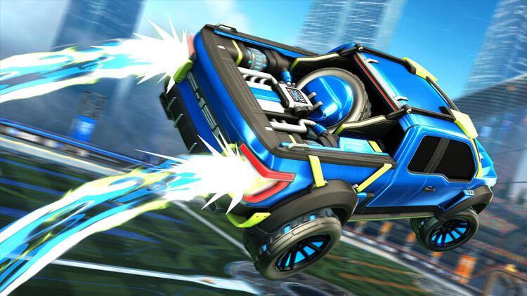 Rocket League ve Ford ortaklığıyla oyuna yeni araçlar geliyor