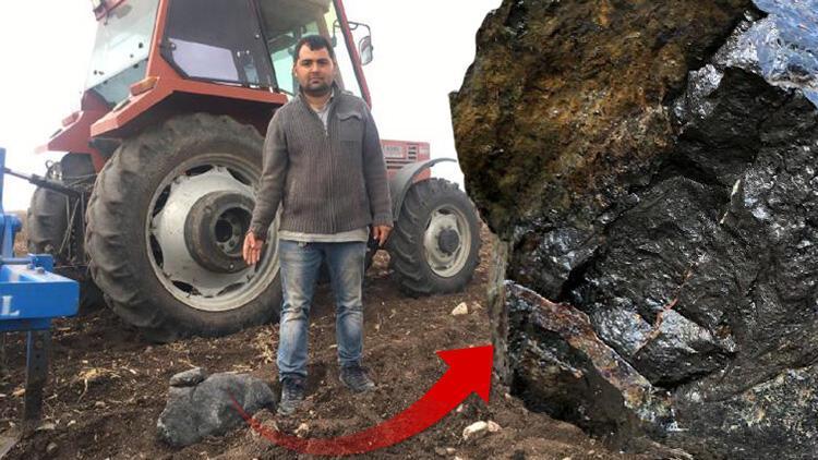 Adana'da heyecan yaratan gök taşı iddiası