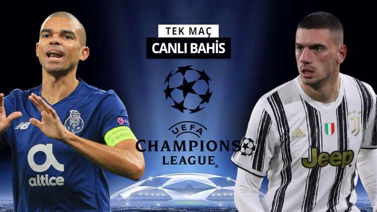 Merih Demiral bu akşam ilk 11'de olacak mı? Juventus'un Porto deplasmanında iddaa oranı...