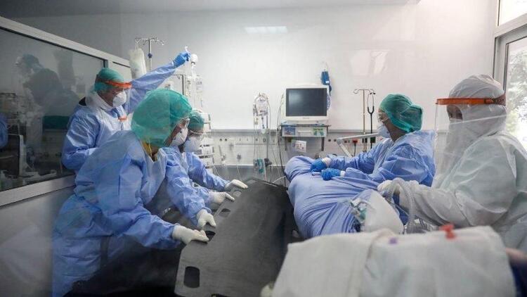 Fransa'da korkunç koronavirüs tablosu! Son 24 saatte 19 bin 590 vaka