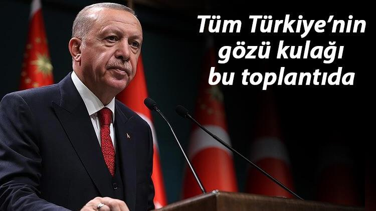 Kabine Toplantısı, Cumhurbaşkanı Erdoğan başkanlığında toplanıyor!