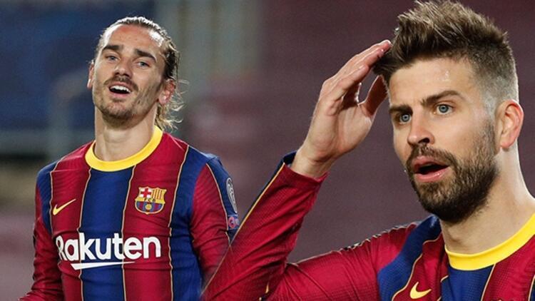 Barcelona'da büyük kavga! Saha içinde küfürleştiler...