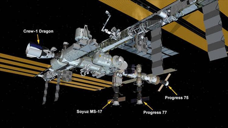 Rusya'nın mekiği Uluslararası Uzay İstasyonu'na demirledi