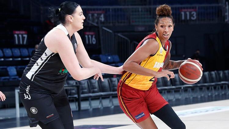 Kadınlar Basketbol Süper Ligi: Galatasaray 83-65 Beşiktaş HDI Sigorta