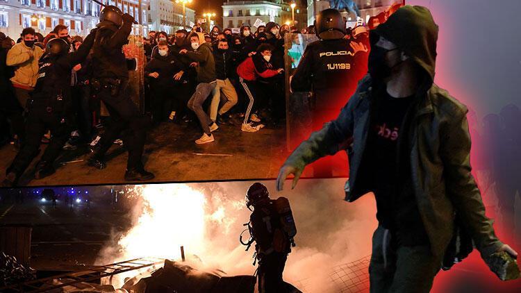 İspanya sokakları yangın yeri! Şiddetin dozu artıyor