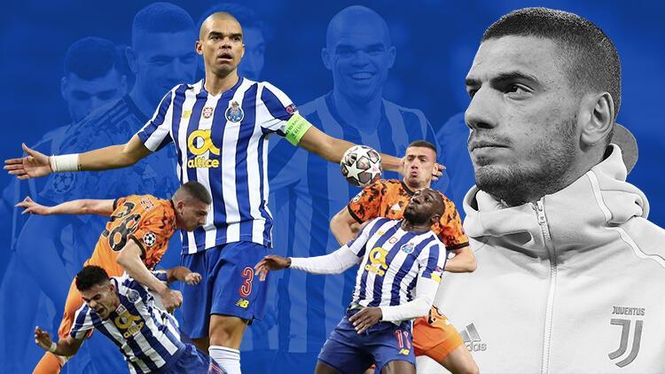 Juventus - Porto maçında gergin anlar! Pepe, Merih Demiral'a yumruk savurdu ama...