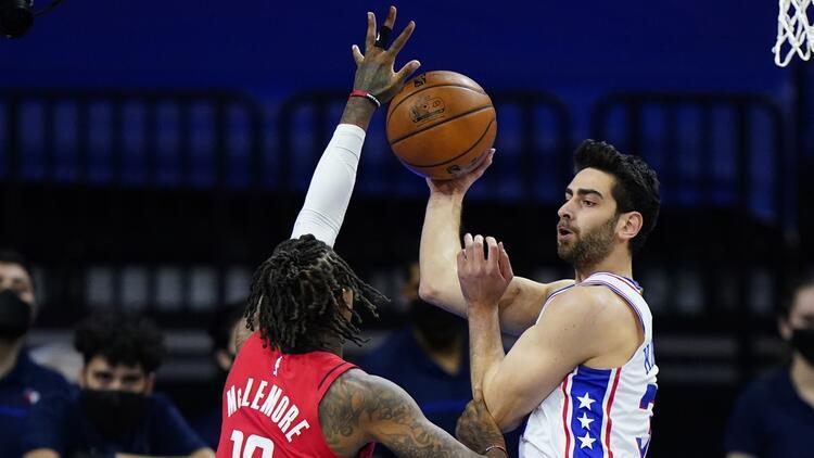 NBA'de Gecenin Sonuçları: Furkan Korkmaz'lı Philadelphia 76ers 3 maç sonra kazandı!