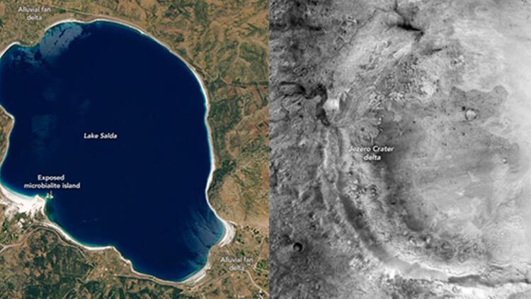 NASA'dan Salda Gölü paylaşımı! 'Mars'a dair fikir verecek' başlığıyla duyurdu