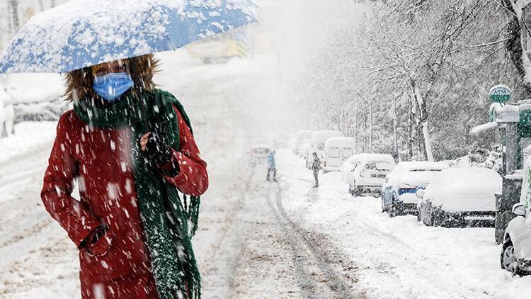Meteoroloji'den 33 kente sarı kodlu uyarı: Yoğun kar, sağanak, çığ...