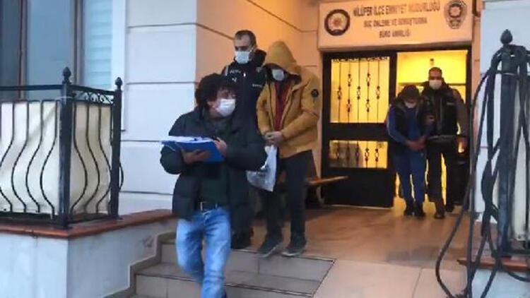 Okullara giren hırsızlar, 110 kameradan 75 saatlik kayıt izleyerek yakalandı