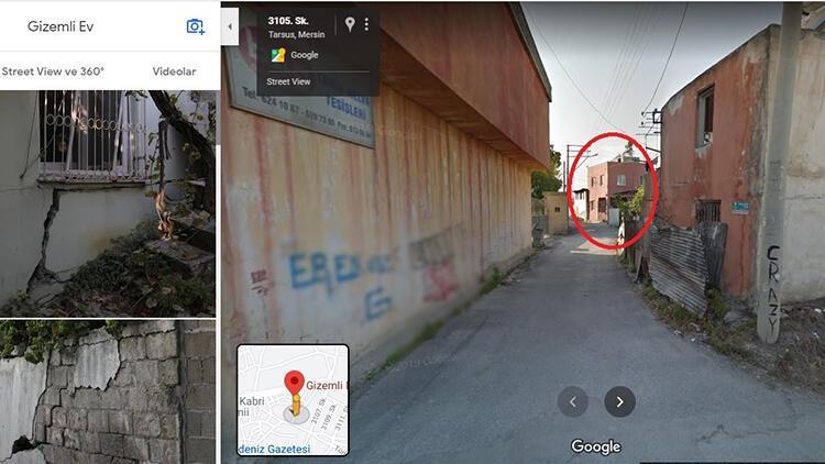 Mersin'deki 'gizemli ev' Google'ın haritalarda işaretlendi