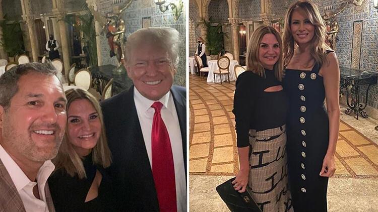 Haftalar sonra ilk kez! Trump çifti birlikte görüntülendi
