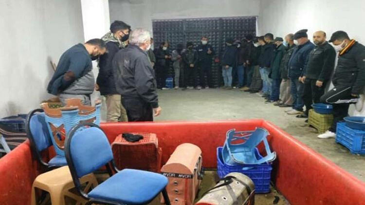 Horoz dövüştüren 27 kişiye toplam 121 bin lira ceza