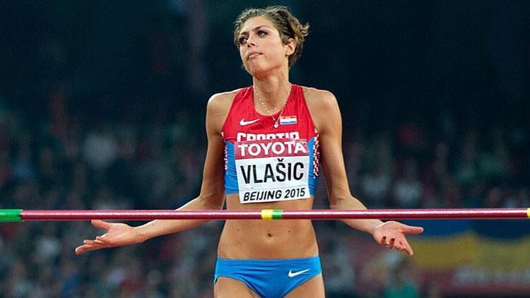 Ünlü sporcu Blanka Vlasic sporu bıraktı!