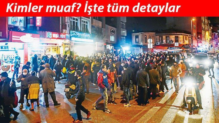 Sokağa çıkma yasağından kimler muaf? ALES'e girenler için sokak kısıtlaması açıklaması