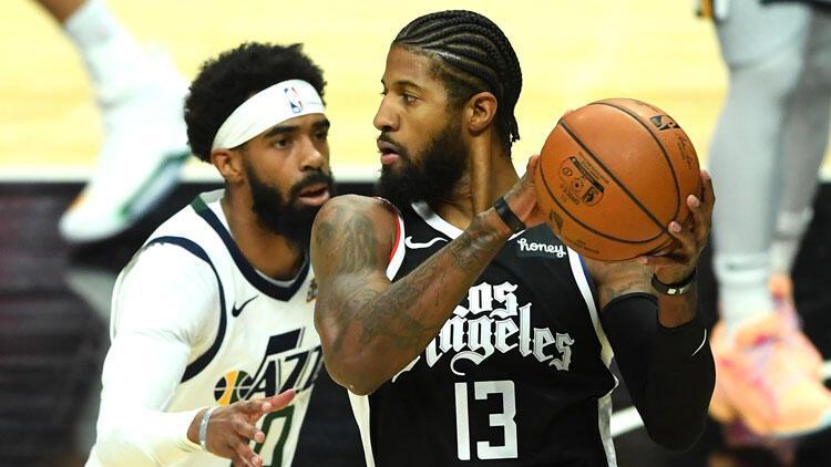 NBA'de gecenin sonuçları: Utah Jazz'ın 9 maçlık serisini Clippers bitirdi!