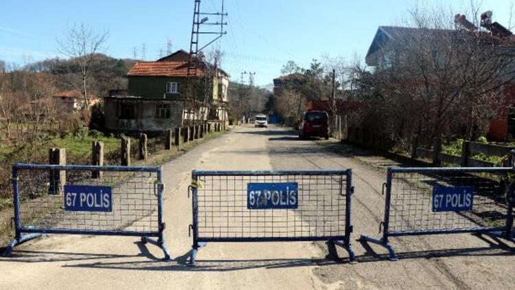 Zonguldak'ta mutasyonlu virüs şüphesiyle bir sokak karantinaya alındı
