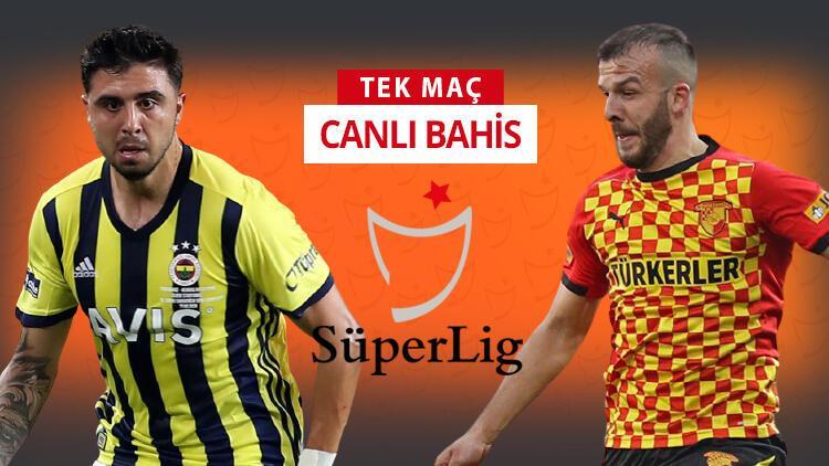 Göztepe 3 önemli ismi İzmir'de bıraktı! Fenerbahçe'nin iddaa oranı...