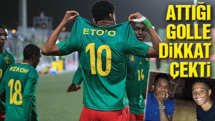 Etienne Eto'o, babası Samuel Eto'o'nun izinde gidiyor!