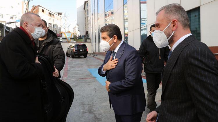 Cumhurbaşkanı Erdoğan, Esenler Belediyesi'ni ziyaret etti
