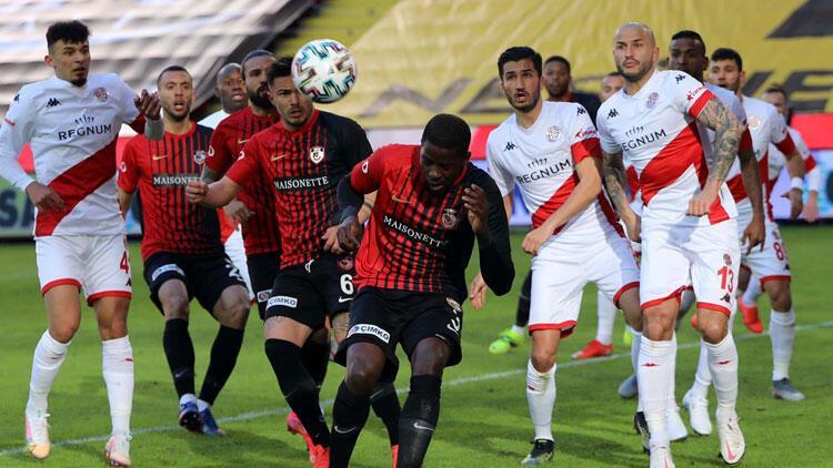 Gaziantep FK 0-0 Antalyaspor (Maçın özeti)