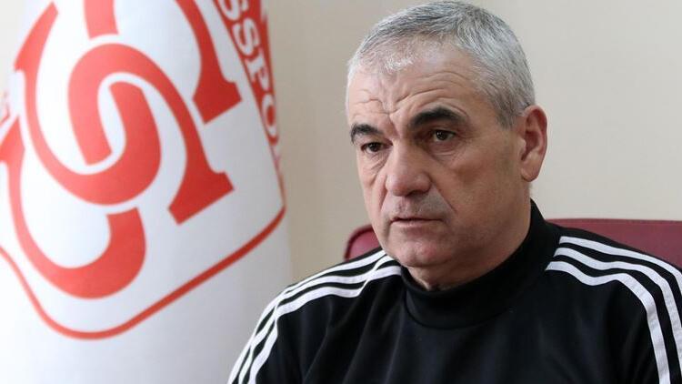 Demir Grup Sivasspor'da Rıza Çalımbay mücadeleden memnun