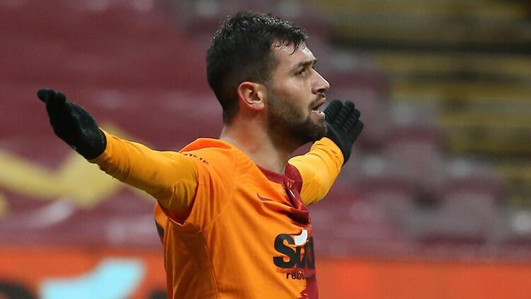 Galatasaray'da Ömer Bayram, kırık kaburgayla 90 dakika oynadı