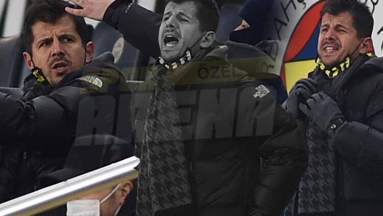 Fenerbahçe'de Emre Belözoğlu tribünde çılgına döndü! Çok sinirlendi...