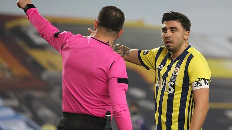 Fenerbahçe'de Ozan Tufan'un Hüseyin Göçek'e tepkisi: Mahvediyorsun bizi  ya