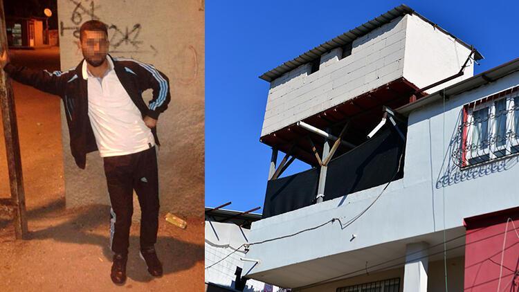 Adana'da darbedildiği için psikolojisi bozulan ve balkondan atlayıp yaralanan kadının eşi yakalandı