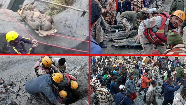 Dünyayı şoke eden iddia... Hindistan'daki buzul felaketinin sebebi CIA!