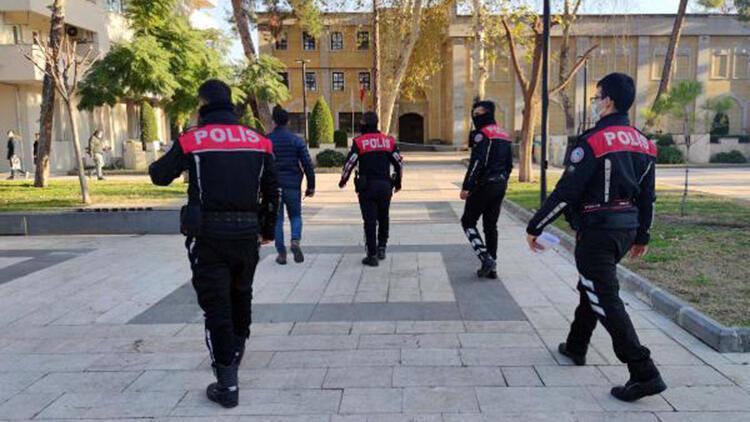 Osmaniye'de polisten koronavirüs denetimi