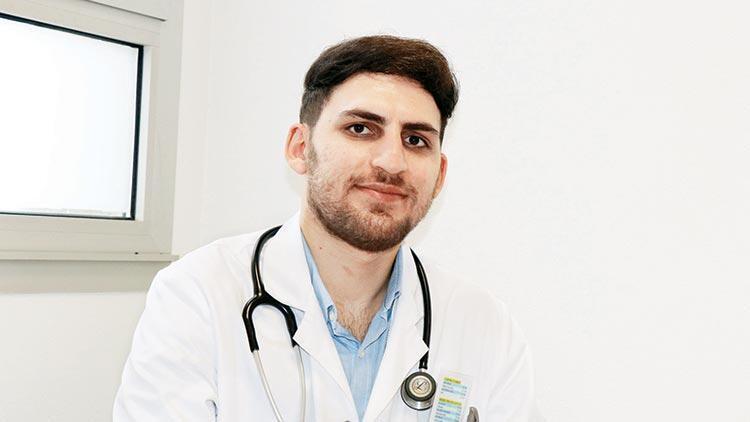 Göçmen gitti doktor oldu