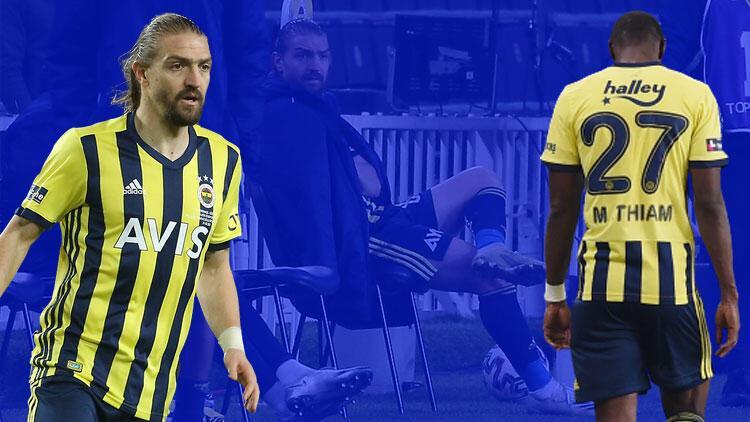 Fenerbahçe'de Caner Erkin ve Mame Thiam'a uyarı