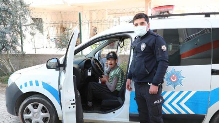 Epilepsi hastası İdris'e polislerden sürpriz