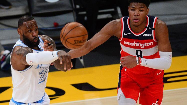 NBA'de gecenin sonuçları: Washington Wizards, Lakers'ı uzatmada devirdi!